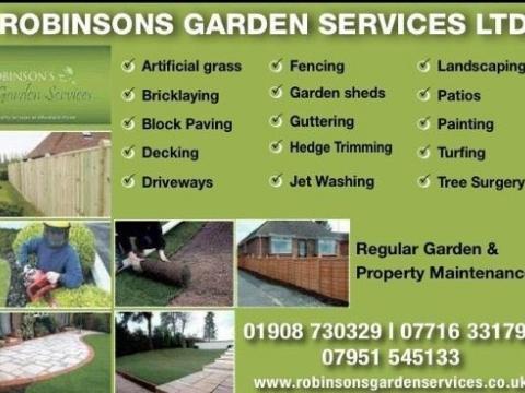 """Robinson""""s Garden Service1"""