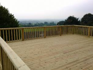 B.Landscaped in Shropshire