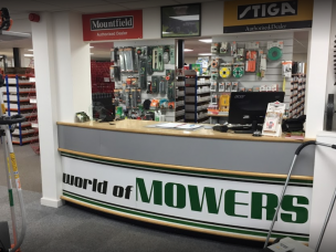 World of Mowers in Nottinghamshire