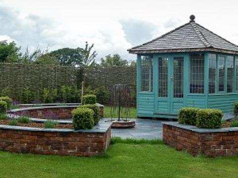 Buzzy Lizzie garden design 3